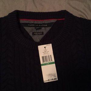 Tommy Hilfiger men's large wool blend sweater